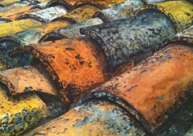 tejado|PinturadePedro Higueras| Compra arte en Flecha.es