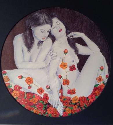 Eden|DibujodeMarisa  Armero| Compra arte en Flecha.es