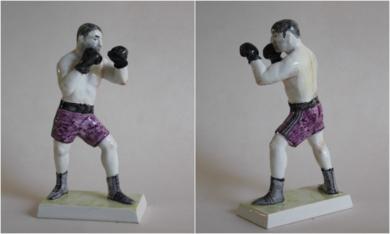 Boxeador 3|EsculturadeManuel Sánchez-Algora| Compra arte en Flecha.es