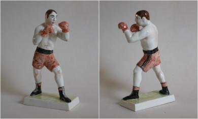Boxeador 5|EsculturadeManuel Sánchez-Algora| Compra arte en Flecha.es