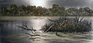 Ebro|Obra gráficadeIgnacio Fortún| Compra arte en Flecha.es