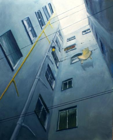 PATIO DE LUCES II|PinturadeEnrique Pitarch| Compra arte en Flecha.es