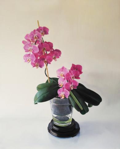 Floración de orquidea|PinturadeJavier Ramos Julián| Compra arte en Flecha.es
