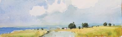 Bahía de Pollensa|PinturadeIñigo Lizarraga| Compra arte en Flecha.es