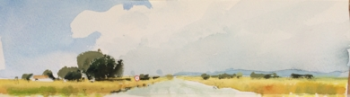 Verano en la carretera|PinturadeIñigo Lizarraga| Compra arte en Flecha.es