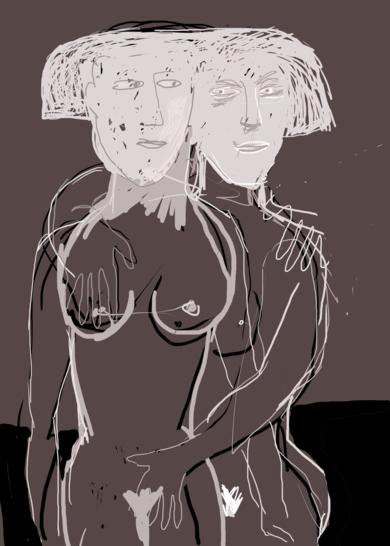 conamor I|Obra gráficadeManuel Sánchez-Algora| Compra arte en Flecha.es