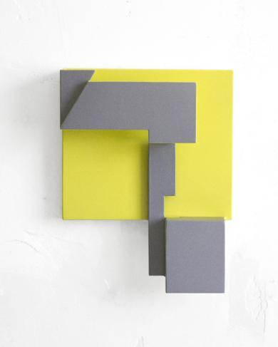 Territorios Lindantes_02.  Serie Amarilla|EsculturadeCandela Muniozguren| Compra arte en Flecha.es
