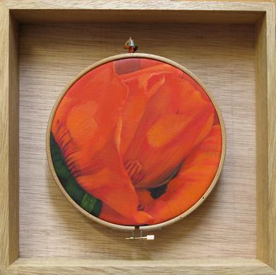 Flores Habitadas II PinturadeCarmen Varela  Compra arte en Flecha.es