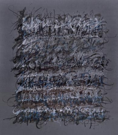 Ruido en Gris|DibujodeJorge Regueira| Compra arte en Flecha.es