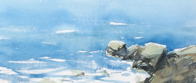 Rocas|PinturadeIñigo Lizarraga| Compra arte en Flecha.es