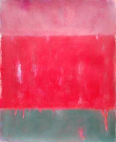 Red field III|PinturadeLuis Medina| Compra arte en Flecha.es
