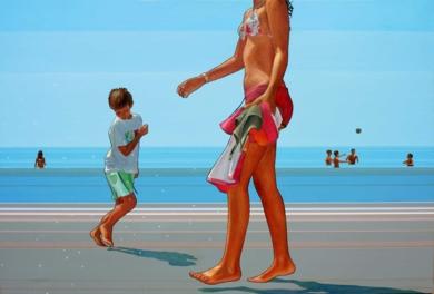 Beach Dance|PinturadeAurora Rumí| Compra arte en Flecha.es