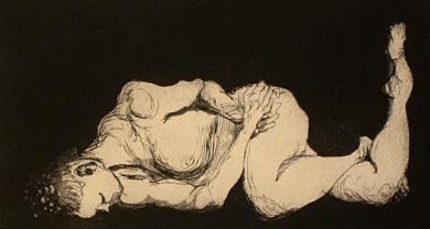 Del Natural|DibujodeJaelius Aguirre| Compra arte en Flecha.es