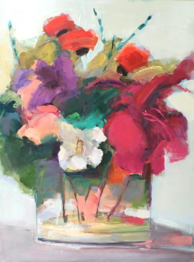 Lugares y Jardines Imaginarios III|PinturadeTeresa Muñoz| Compra arte en Flecha.es