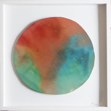 Azuver|PinturadeVioleta McGuire| Compra arte en Flecha.es