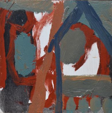 Venecia a las nueve y cuarto I|PinturadeCelia Muñoz| Compra arte en Flecha.es