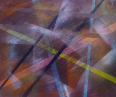 el bosque seco|PinturadeJuan Caravaca Art| Compra arte en Flecha.es