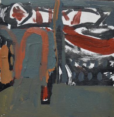 Venecia a las nueve y cuarto VII|PinturadeCelia Muñoz| Compra arte en Flecha.es