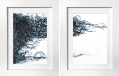Nubes|DibujodeJorge Regueira| Compra arte en Flecha.es