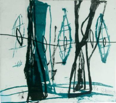 Serie bosque encantado|Obra gráficadeSílvia Colomina| Compra arte en Flecha.es