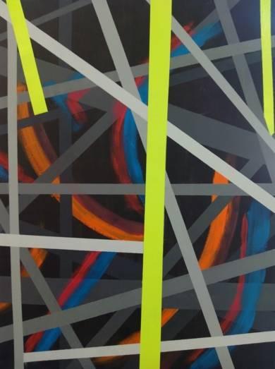 cenizas en el bosque|PinturadeJuan Caravaca Art| Compra arte en Flecha.es