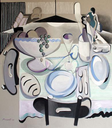 Cena|PinturadeMiguel Mansanet| Compra arte en Flecha.es