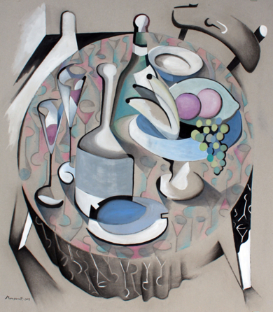 Bodegón II|PinturadeMiguel Mansanet| Compra arte en Flecha.es