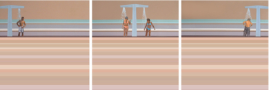 Watching Beach TV|PinturadeAurora Rumí| Compra arte en Flecha.es