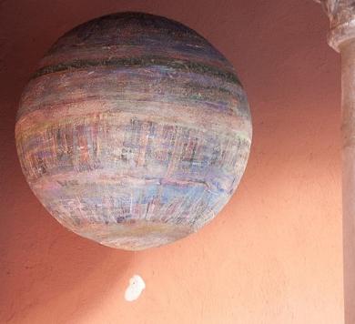planeta 2 y coral|CollagedePilar Muñoz Bayo| Compra arte en Flecha.es