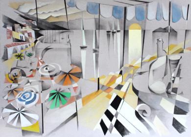 puerto III|PinturadeMiguel Mansanet| Compra arte en Flecha.es