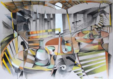 puerto IV|PinturadeMiguel Mansanet| Compra arte en Flecha.es