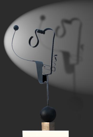 cabeza II|EsculturadeMiguel Mansanet| Compra arte en Flecha.es