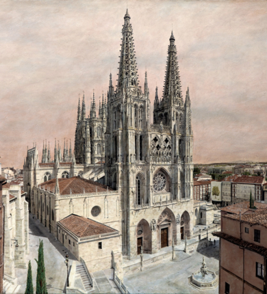 La Catedral de Burgos.|FotografíadeCarlos Arriaga| Compra arte en Flecha.es