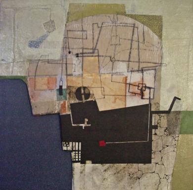 El jardín tapiado III|PinturadeElisa Ortega| Compra arte en Flecha.es
