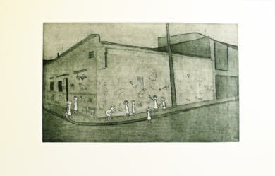Los Grafittis|Obra gráficadeAna Valenciano| Compra arte en Flecha.es