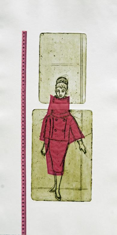 Siempre quise ser más alta|Obra gráficadeAna Valenciano| Compra arte en Flecha.es