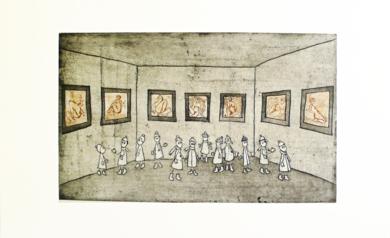 La Sala del Museo|Obra gráficadeAna Valenciano| Compra arte en Flecha.es