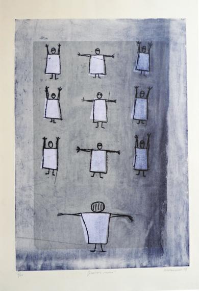 Gimnasia sueca|Obra gráficadeAna Valenciano| Compra arte en Flecha.es
