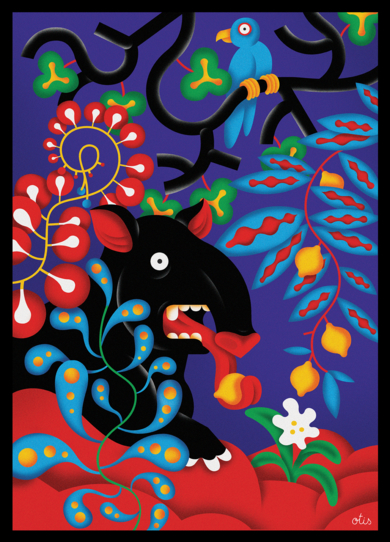 Tapir|DibujodeLouis Grosperrin| Compra arte en Flecha.es