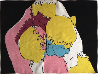 Rug #01|Escultura de pareddeLeo Rydell Jost| Compra arte en Flecha.es