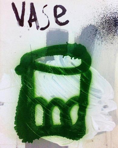 Vase|PinturadeAlmudena  Blanco| Compra arte en Flecha.es