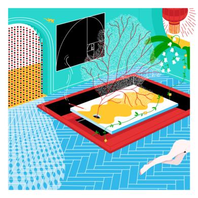 Inside Worlds 2|DibujodeLouis Grosperrin| Compra arte en Flecha.es