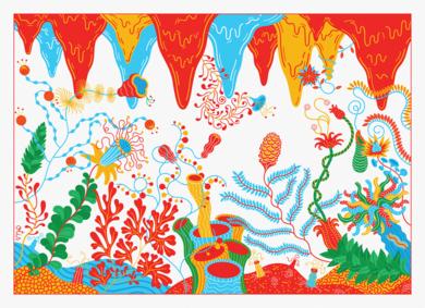 Cave of Wonders|DibujodeLouis Grosperrin| Compra arte en Flecha.es