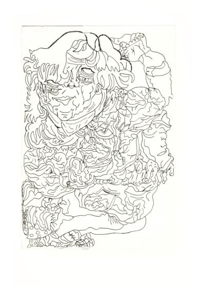 Bailarina|DibujodeAlicia Herrera| Compra arte en Flecha.es