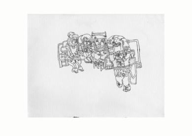 Sin título|DibujodeAlicia Herrera| Compra arte en Flecha.es