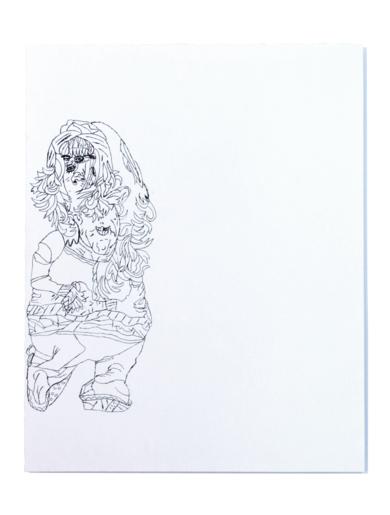 Policía de tráfico|DibujodeAlicia Herrera| Compra arte en Flecha.es