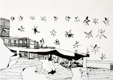 Sin título|DibujodeJorge Bermejo| Compra arte en Flecha.es