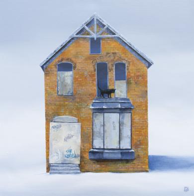 Bricks|PinturadeRosa Alamo| Compra arte en Flecha.es