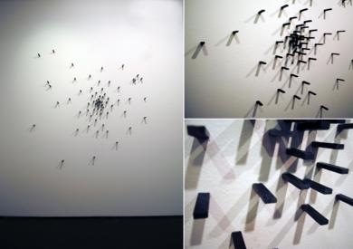 Fragmentos de suelo en explosión|EsculturadeVanessaGallardo| Compra arte en Flecha.es