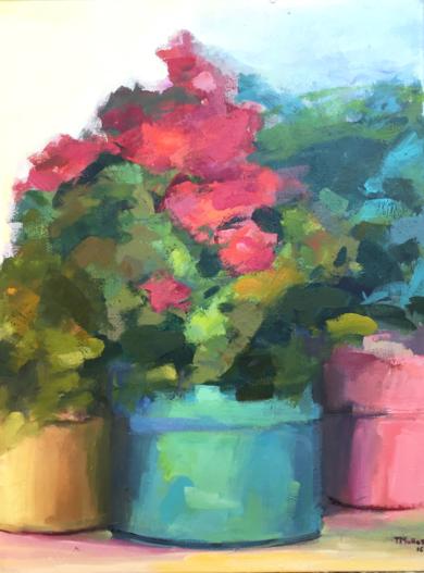 Lugares y Jardines Imaginarios I|PinturadeTeresa Muñoz| Compra arte en Flecha.es